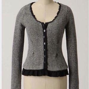 Guinevere Anthropologie Angora Blend Sweater Sz M